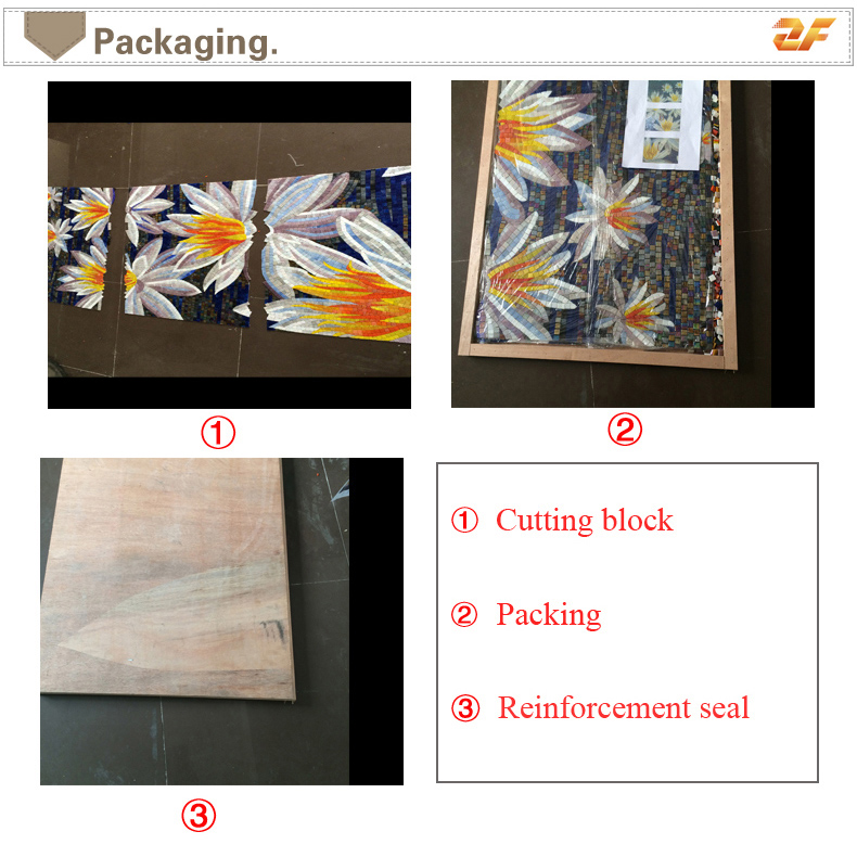 Anime Studying: ZFCTM014 Anime Cartoon Glass Mosaic Tiles Pattern For